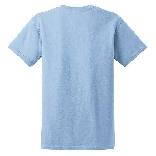 Custom Printed Fruit of the Loom L3930R Ladies' Heavy Cotton HD T-Shirt - 11 - Back View | ThatShirt