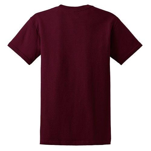Custom Printed Fruit of the Loom L3930R Ladies' Heavy Cotton HD T-Shirt - 12 - Back View | ThatShirt
