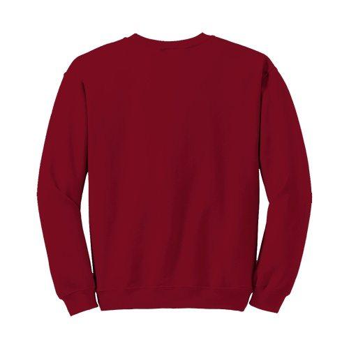 Custom Printed Fruit of the Loom SF72R Sofspun Sweatshirt - 4 - Back View | ThatShirt