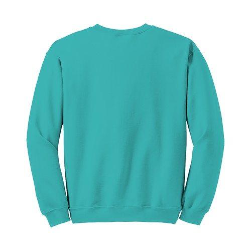 Custom Printed Fruit of the Loom SF72R Sofspun Sweatshirt - 12 - Back View | ThatShirt