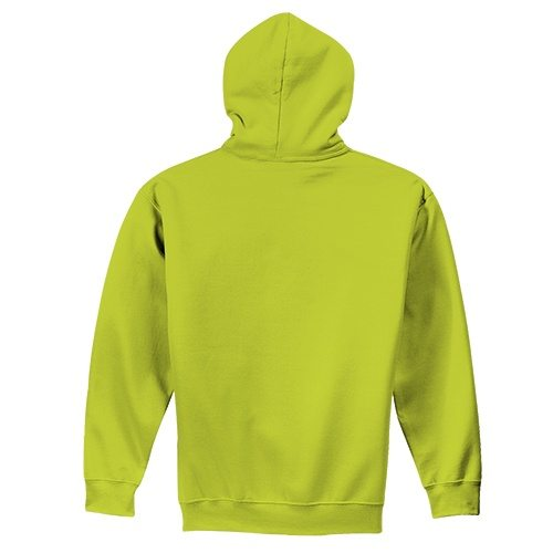 Custom Printed Fruit of the Loom SF73R Sofspun Full Zip Hooded Sweatshirt - 5 - Back View | ThatShirt