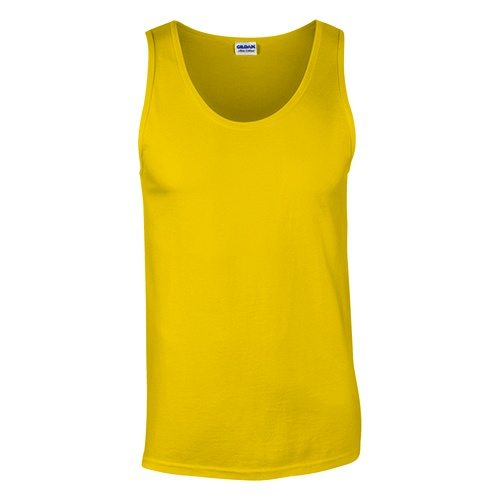 Custom Printed Gildan 0220 Ultra Cotton Tank Top - Front View | ThatShirt