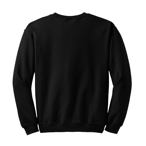 Custom Printed Gildan 1801 Heavy Blend 50/50 Crewneck Sweater - 3 - Back View | ThatShirt
