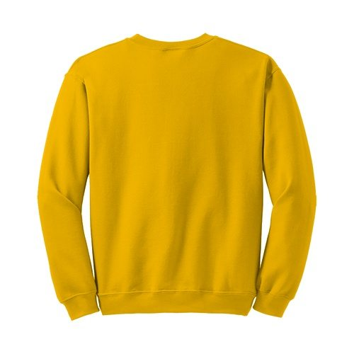 Custom Printed Gildan 1801 Heavy Blend 50/50 Crewneck Sweater - 12 - Back View | ThatShirt