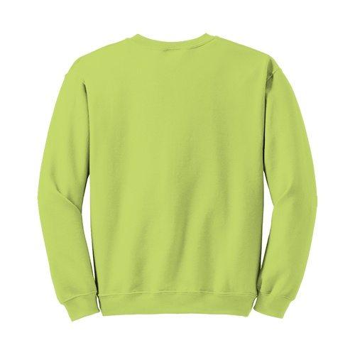 Custom Printed Gildan 1801 Heavy Blend 50/50 Crewneck Sweater - 17 - Back View | ThatShirt