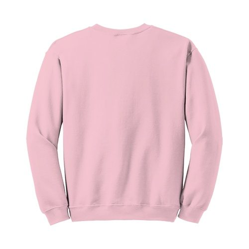 Custom Printed Gildan 1801 Heavy Blend 50/50 Crewneck Sweater - 19 - Back View | ThatShirt