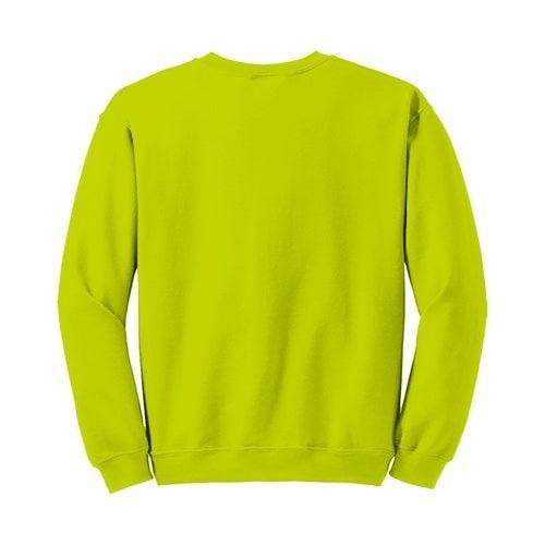 Custom Printed Gildan 1801 Heavy Blend 50/50 Crewneck Sweater - 27 - Back View | ThatShirt