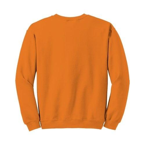 Custom Printed Gildan 1801 Heavy Blend 50/50 Crewneck Sweater - 28 - Back View | ThatShirt
