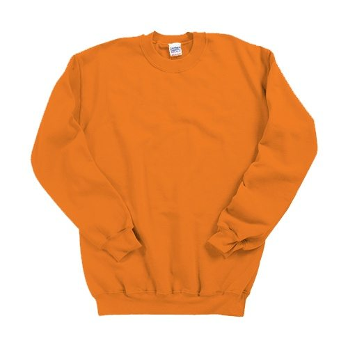 Custom Printed Gildan 1801 Heavy Blend 50/50 Crewneck Sweater - Front View | ThatShirt