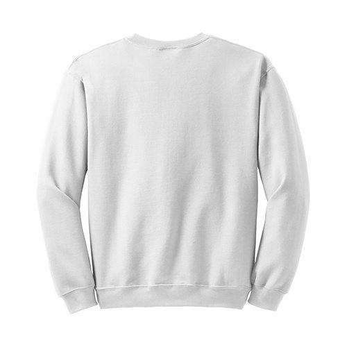 Custom Printed Gildan 1801 Heavy Blend 50/50 Crewneck Sweater - 33 - Back View | ThatShirt