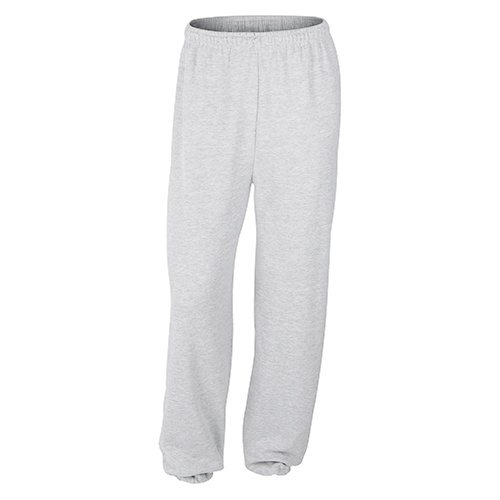 Custom Printed Gildan 1820 Heavy Blend Elastic Sweatpant - Front View | ThatShirt