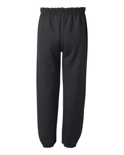 Custom Printed Gildan 182B Youth Heavy Blend Elastic Sweatpant - 1 - Back View   ThatShirt