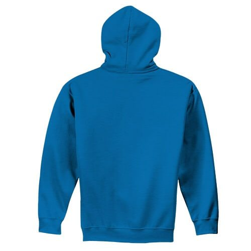 Custom Printed Gildan 1850 Heavy Blend 50–50 Pullover Hoodie - 1 - Back View | ThatShirt