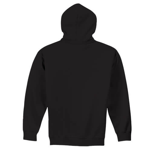 Custom Printed Gildan 1850 Heavy Blend 50–50 Pullover Hoodie - 3 - Back View | ThatShirt