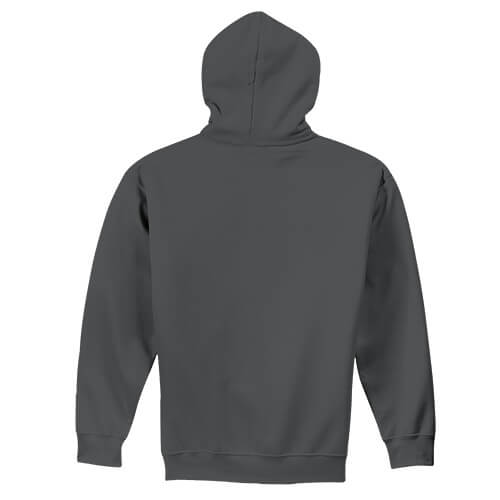 Custom Printed Gildan 1850 Heavy Blend 50–50 Pullover Hoodie - 5 - Back View | ThatShirt