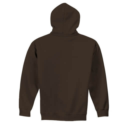 Custom Printed Gildan 1850 Heavy Blend 50–50 Pullover Hoodie - 7 - Back View | ThatShirt