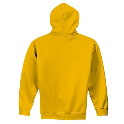 Custom Printed Gildan 1850 Heavy Blend 50–50 Pullover Hoodie - 11 - Back View | ThatShirt