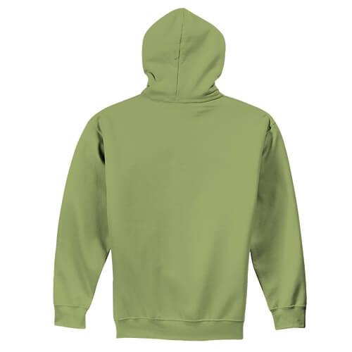 Custom Printed Gildan 1850 Heavy Blend 50–50 Pullover Hoodie - 15 - Back View | ThatShirt
