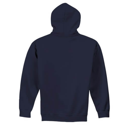 Custom Printed Gildan 1850 Heavy Blend 50–50 Pullover Hoodie - 18 - Back View   ThatShirt