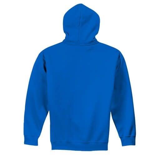 Custom Printed Gildan 1850 Heavy Blend 50–50 Pullover Hoodie - 22 - Back View | ThatShirt