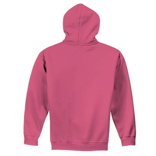 Custom Printed Gildan 1850 Heavy Blend 50–50 Pullover Hoodie - 25 - Back View | ThatShirt
