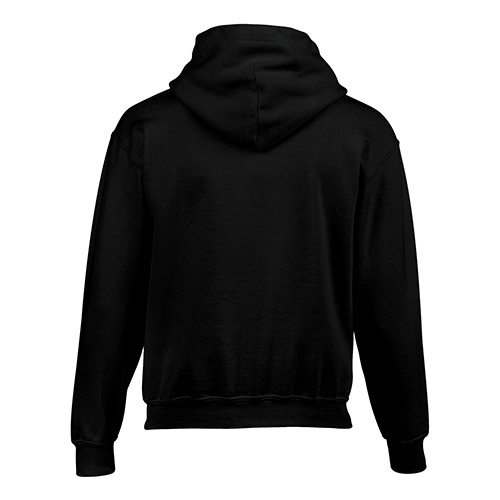 Custom Printed Gildan 185B Youth Heavy Blend 50/50 Hooded Sweatshirt - 1 - Back View | ThatShirt