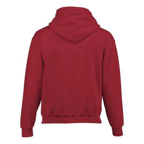 Custom Printed Gildan 185B Youth Heavy Blend 50/50 Hooded Sweatshirt - 2 - Back View | ThatShirt