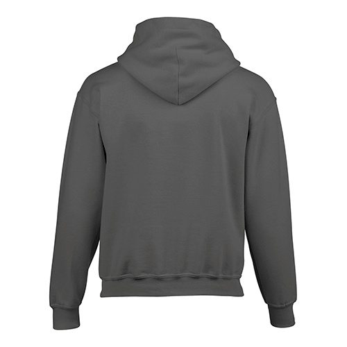 Custom Printed Gildan 185B Youth Heavy Blend 50/50 Hooded Sweatshirt - 4 - Back View | ThatShirt