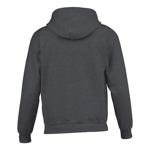 Custom Printed Gildan 185B Youth Heavy Blend 50/50 Hooded Sweatshirt - 5 - Back View   ThatShirt