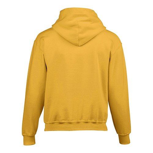 Custom Printed Gildan 185B Youth Heavy Blend 50/50 Hooded Sweatshirt - 8 - Back View | ThatShirt