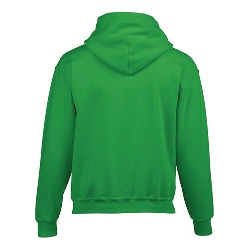 Custom Printed Gildan 185B Youth Heavy Blend 50/50 Hooded Sweatshirt - 10 - Back View | ThatShirt