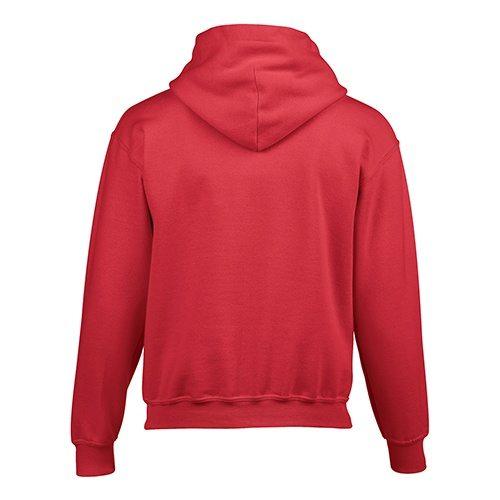 Custom Printed Gildan 185B Youth Heavy Blend 50/50 Hooded Sweatshirt - 15 - Back View | ThatShirt