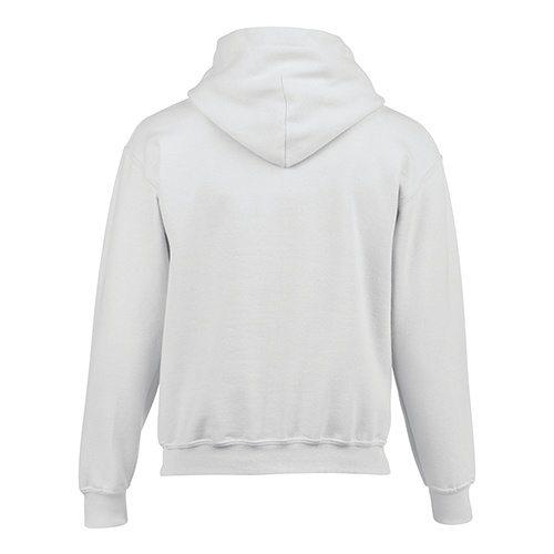 Custom Printed Gildan 185B Youth Heavy Blend 50/50 Hooded Sweatshirt - 19 - Back View | ThatShirt