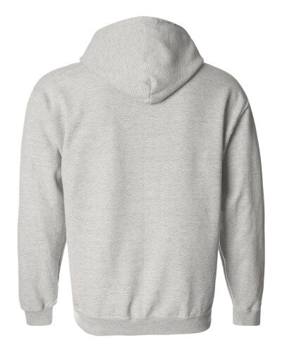 Custom Printed Gildan 1860 Heavy Blend 50/50 Full Zip Hooded Sweatshirt - 0 - Back View | ThatShirt