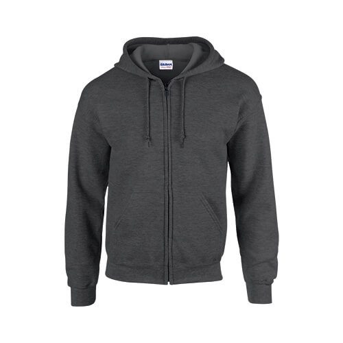 Gildan 1860 Heavy Blend 50/50 Full Zip Hooded Sweatshirt