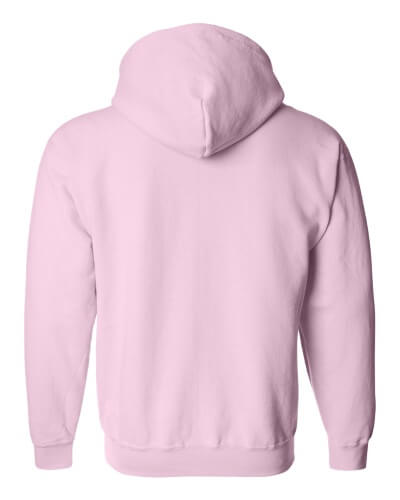 Custom Printed Gildan 1860 Heavy Blend 50/50 Full Zip Hooded Sweatshirt - 8 - Back View | ThatShirt