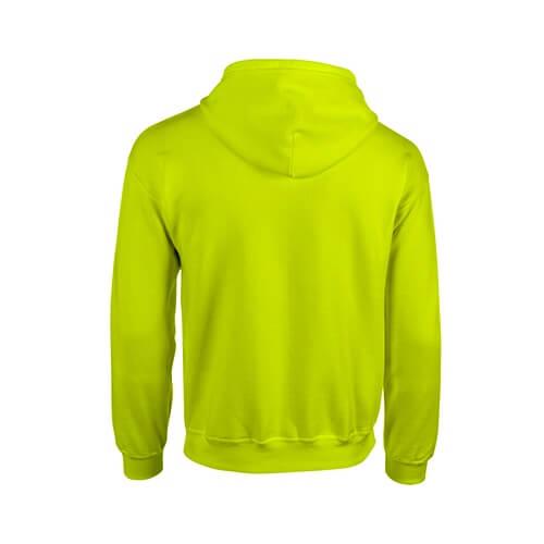 Custom Printed Gildan 1860 Heavy Blend 50/50 Full Zip Hooded Sweatshirt - 15 - Back View | ThatShirt