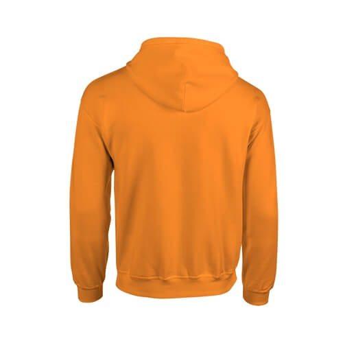 Custom Printed Gildan 1860 Heavy Blend 50/50 Full Zip Hooded Sweatshirt - 16 - Back View | ThatShirt