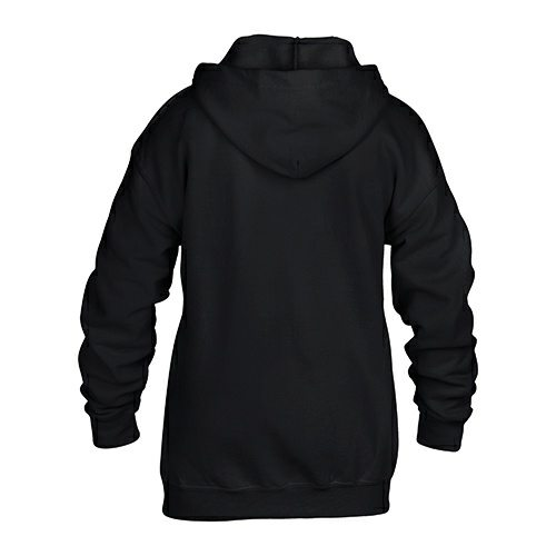 Custom Printed Gildan 186B Youth Heavy Blend 50/50 Full Zip Hooded Sweatshirt - 1 - Back View | ThatShirt