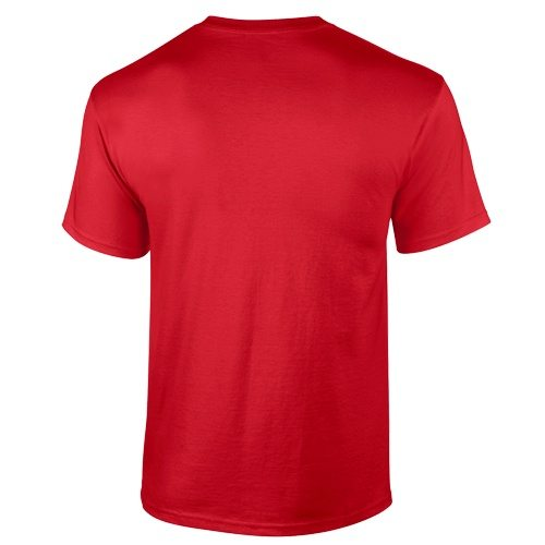 Custom Printed Gildan 2000 Ultra Cotton Unisex T-Shirt - 47 - Back View   ThatShirt