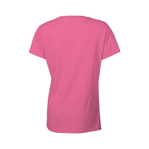 Custom Printed Gildan 2000L Ladies' Ultra Cotton Missy Fit T-Shirt - 1 - Back View | ThatShirt