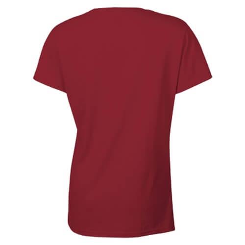 Custom Printed Gildan 2000L Ladies' Ultra Cotton Missy Fit T-Shirt - 3 - Back View   ThatShirt
