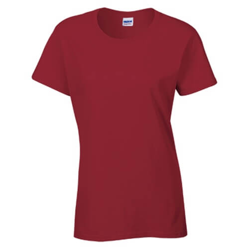 Custom Printed Gildan 2000L Ladies' Ultra Cotton Missy Fit T-Shirt - Front View   ThatShirt