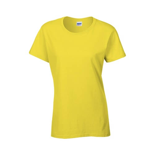 Custom Printed Gildan 2000L Ladies' Ultra Cotton Missy Fit T-Shirt - 5 - Front View | ThatShirt