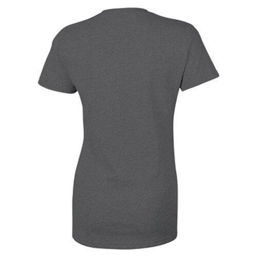 Custom Printed Gildan 2000L Ladies' Ultra Cotton Missy Fit T-Shirt - 7 - Back View   ThatShirt