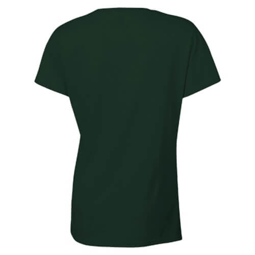 Custom Printed Gildan 2000L Ladies' Ultra Cotton Missy Fit T-Shirt - 8 - Back View | ThatShirt