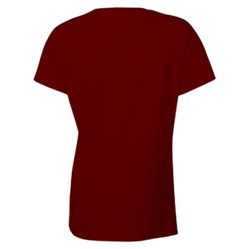 Custom Printed Gildan 2000L Ladies' Ultra Cotton Missy Fit T-Shirt - 9 - Back View | ThatShirt