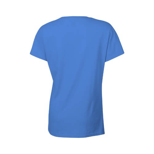 Custom Printed Gildan 2000L Ladies' Ultra Cotton Missy Fit T-Shirt - 11 - Back View | ThatShirt