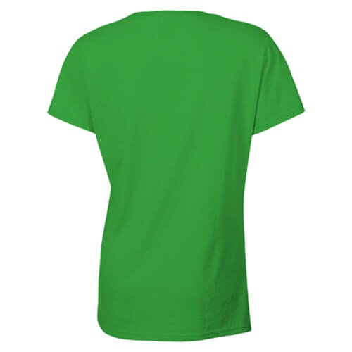 Custom Printed Gildan 2000L Ladies' Ultra Cotton Missy Fit T-Shirt - 0 - Back View | ThatShirt