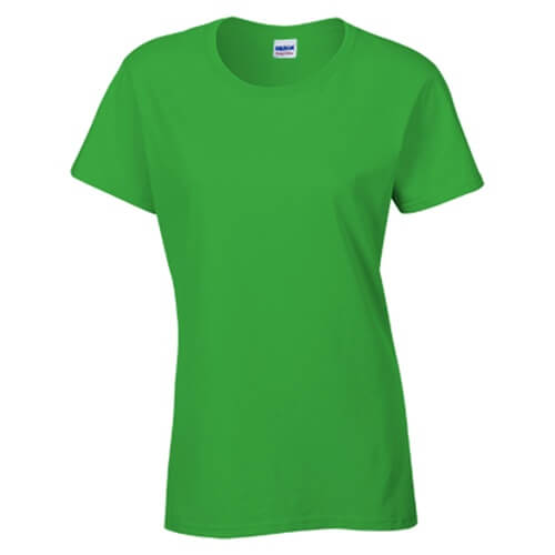 Custom Printed Gildan 2000L Ladies' Ultra Cotton Missy Fit T-Shirt - 0 - Front View | ThatShirt